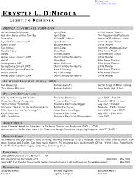 show me a resume example welcome to kdinicola com entertainment resumes entertainment resumes