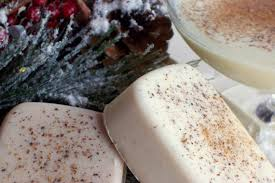 free shipping eggnog soap soap with nutmeg