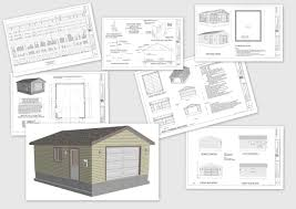 Detached Garage Plans In Smashing G X X Plans Dwg Then Pdf Plans