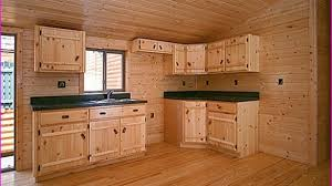 pine kitchen furniture unfinished pine cabinets brilliant kitchen regarding 7