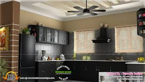 modern kitchen cabinets in kerala kitchen interior dining area design kerala home design and