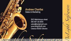 Business Card Music Music Card Sample Of Business Card Design Available In Bus U2026 Flickr