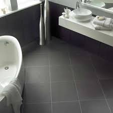 Tile Bathroom Floor Ideas Home Designs Bathroom Floor Tile Ideas Modern Black Accents