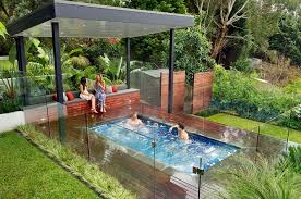 Above Ground Pool Ideas Backyard Above Ground Pool With Hot Tub Pool Design Ideas