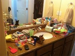 Messy Bathroom Cayde U0027s Blog