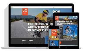 cycling responsive sports joomla templates