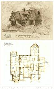 a storybook cottage design additional plans elevations details