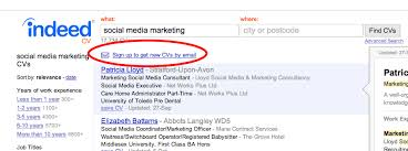 Indeed Com Search Resumes How To Find Free Cvs On Indeed Com And Contact Them For Free