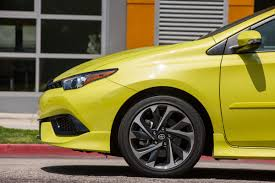 scion yellow 2016 scion im setting the new standard for tech packed hatchbacks