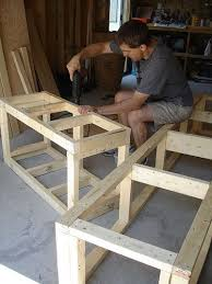 Simple Outdoor Bench Seat Plans by Best 25 Build A Bench Ideas On Pinterest Diy Wood Bench Bench