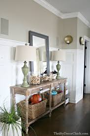 White Foyer Table The Perfect Farmhouse Table House Of Hargrove