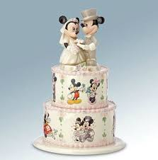 wedding wishes cake disney s minnie s wedding day wishes cake topper figurine lenox