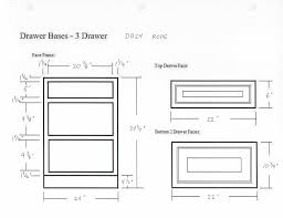 standard kitchen cabinet face frame dimensions