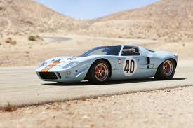 old ford cars old ford gt40 in gulf oil colors