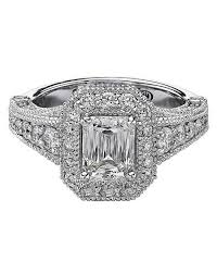 cut engagement ring emerald cut engagement rings