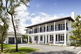 modern plantation homes neoclassical plantation style residence miami florida home