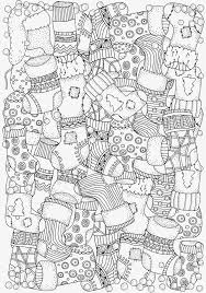 5 absolutely free beautiful christmas colouring pages christmas
