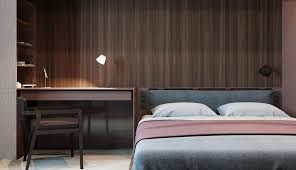 home designs dark wood panel wall 3 one bedroom apartments with