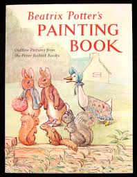painting book beatrix potter s painting book outline pictures from the