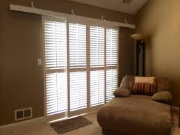 patio door plantation shutters decor modern on cool excellent on