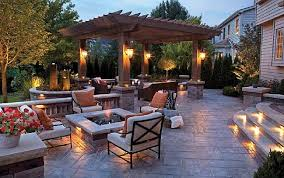 Landscape Lighting For YearRound Enjoyment Lucia Lighting  Design - Backyard lighting design