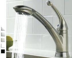 delta leland kitchen faucet kitchen faucets delta single handle pull sprayer kitchen