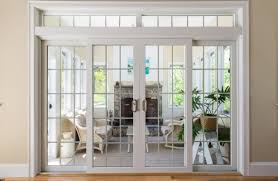Vinyl Patio Door Impact Resistant Exterior Interior Wooden Patio Doors