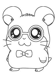 hamtaro coloring pages coloring pages kids