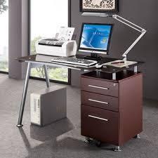 Desk With File Cabinet Modern Design Office Locking File Cabinet Computer Desk Free