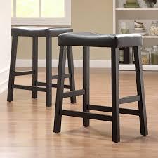 bar stools scottsdale weston home scottsdale saddle bar stool white set of 2 hayneedle
