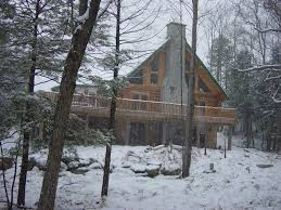 vermont cottage the perfect vermont real log cabin house homeaway essex town