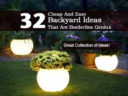 Landscaping Ideas For Backyard On A Budget 40 Awesome And Cheap Landscaping Ideas 27 Is Easy Backyard
