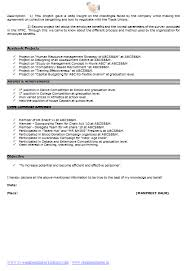 Resume Format For Job Download by Cv Resume Format Download