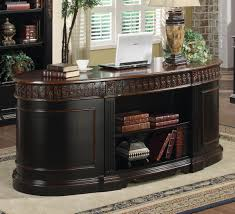 Desk In Oval Office by Niconi Oval Executive Office Desk