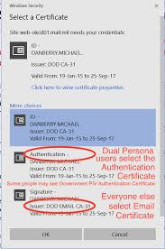 Dts Army Help Desk Militarycac U0027s Access Your Cac Enabled Outlook Web Access Apps Owa