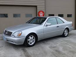 mercedes cl600 amg price 1997 mercedes cl600 german cars for sale