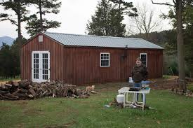 sheriff retires to 14x36 man cave off the grid byler barns