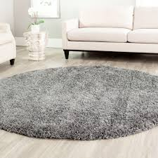 safavieh california shag dark gray 6 ft 7 in x 6 ft 7 in round