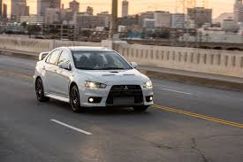 evo 10 mitsubishi says goodbye to lancer evo x with special edition model