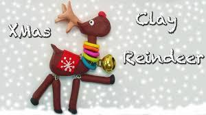 clay reindeer christmas tutorial reno navideño en porcelana fría
