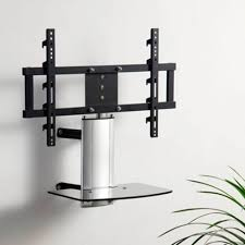 modern tv stand with mount universal tabletop tv stand with swivel and height adjustable tv