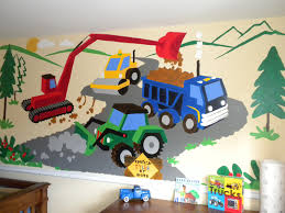 Cars Wall Mural by Small Under Construction