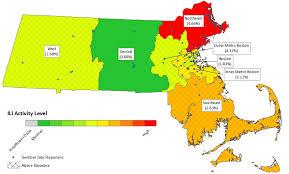 Map Of Northampton Ma Flu Cases On The Rise In Massachusetts For 2018 Season Masslive Com