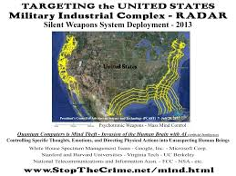 Radar Map Usa by Mind Control Electronic Harassment Stalking
