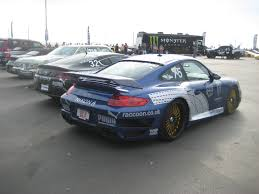 porsche modified modified blue 997 porsche 911 turbo at 2009 gumball 3000 5