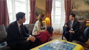 bureau de repr駸entation de taipei en 義大利國家研究委員會 cnr 國際長於1月22日拜會駐法代表處 駐法國台北