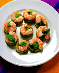 canapes with prawns lyndeymilan com polenta canapes with prawns