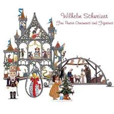 wilhelm schweizer pewter ornaments and figurines from
