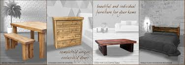 Wooden Furniture Handmade Handmade Rustic Furniture Solid Wood Furniture From Fcf Uk