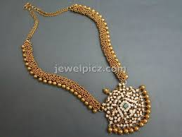 gold designer necklace andino jewellery